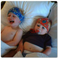 Boys and their fascination with undies!