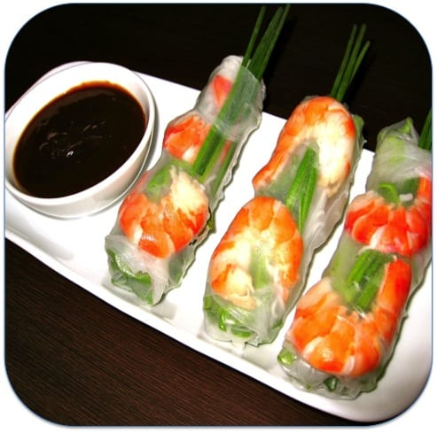 Fresh, Simple n' Healthy Rice Paper Rolls - Mouths of Mums