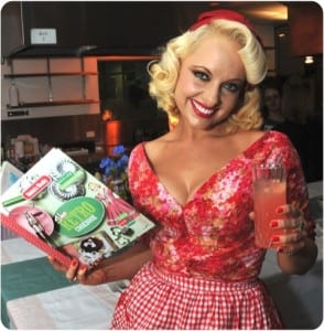 Step back in time with... Pamela Anderson Cookbook