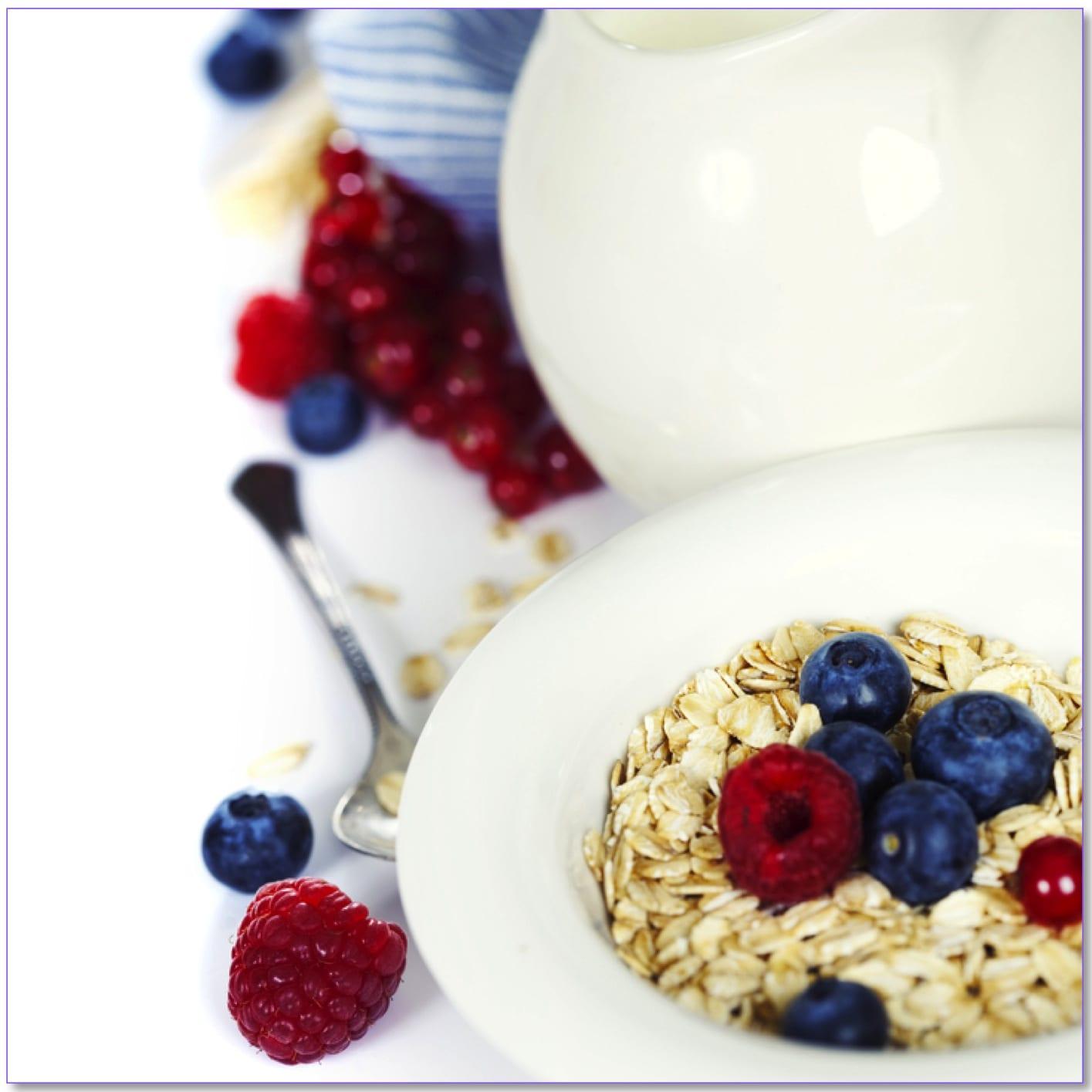 Oats & Berries with Milk
