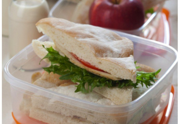 Give them a healthy school lunch every day!
