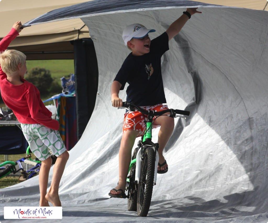 In the barrel - free school holiday activities