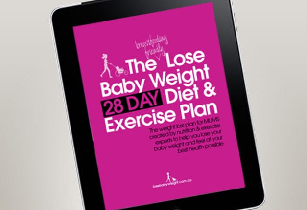 The Lose Baby Weight 28 Day Diet & Exercise Plan Product ...