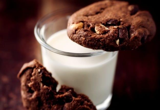 Milk & cookies for dinner!