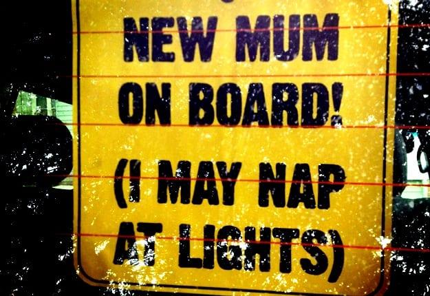 Sleep deprivation makes me a crazy woman!