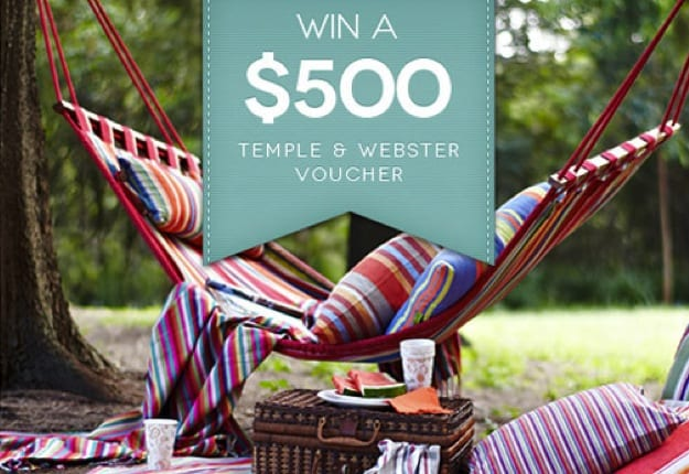 Join Temple & Webster to win a $500 voucher!