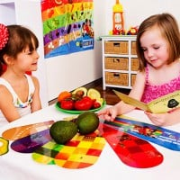 Eating my colourful vegies and fruit - Recipes for Kids