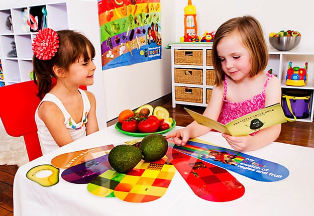 Eating my colourful vegies and fruit – Recipes for Kids