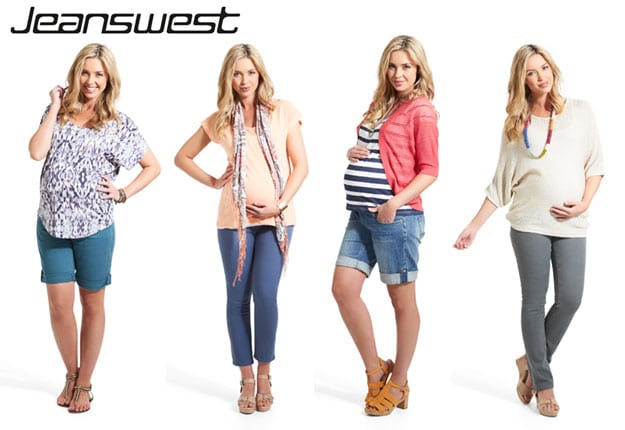 Win 1 of 5 Jeanswest Maternity Demin vouchers worth $100!