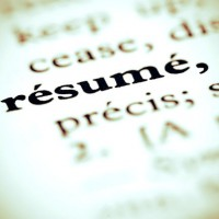 Love thy Resume