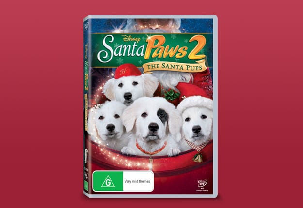 Win 1 of 5 Santa Pups DVDs