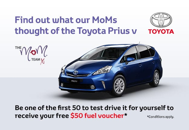 Test drive Prius v today and receive a $50 fuel voucher.