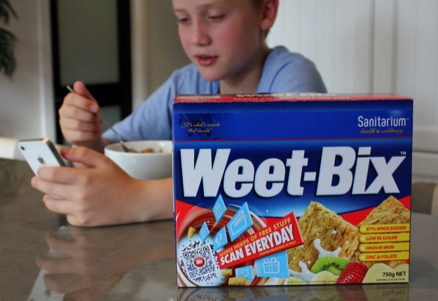 Weet-bix selling for up to $50 a box!