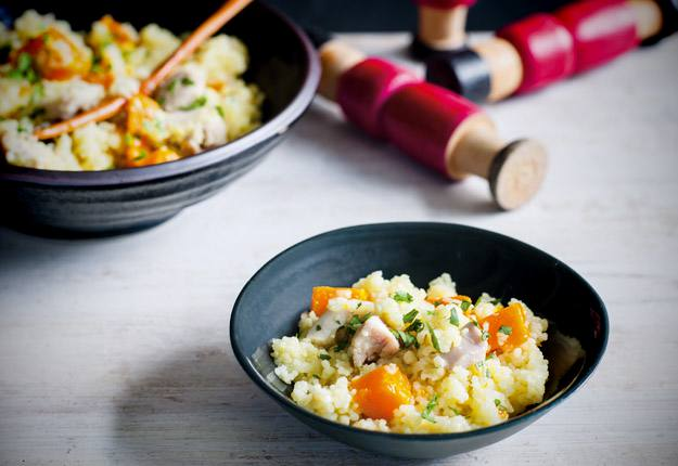 Chicken And Pumpkin Couscous Recipe Real Recipes From Mums