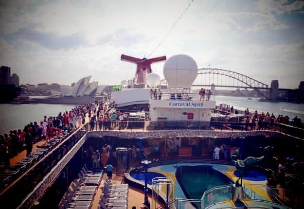 Carnival Spirit Waterslide Carnival Spirit Cruise