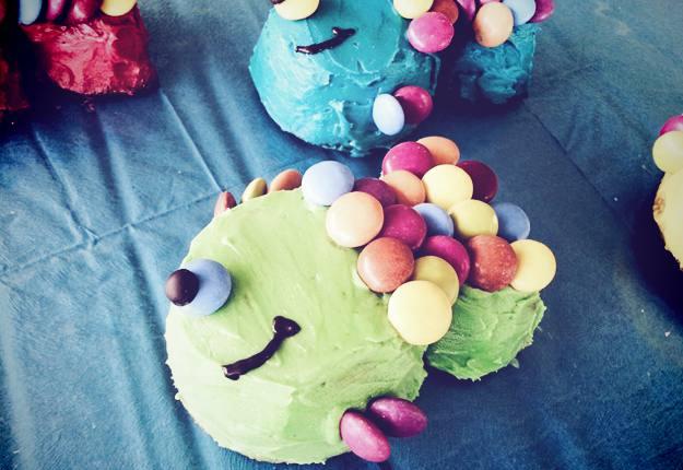 Fishy cupcakes recipe