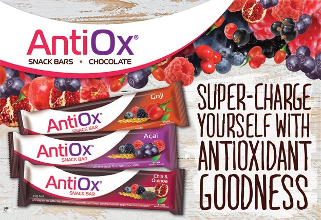 antiox snack bars all flavours