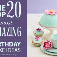 Top 20 amazing birthday cake ideas!