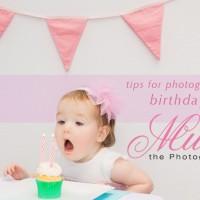 How to take beautiful birthday photos