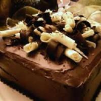 Chocolate Toblerone Mud Cake