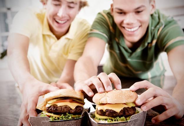 Hungry teenagers