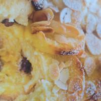 Fruity baked custard