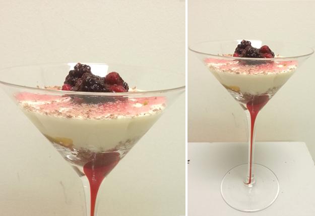 Lemon and Mixed Berries Cheesecake