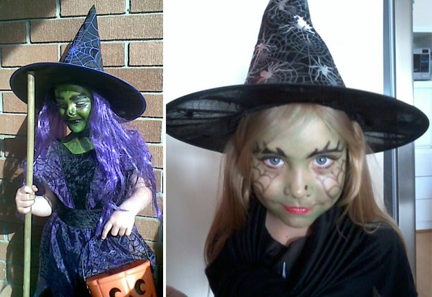 Witches Face Painting Pintrest