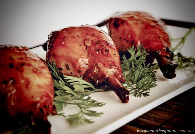 Marinated chicken drumsticks recipe