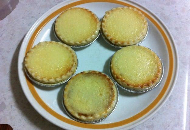 Pineapple cheese tarts