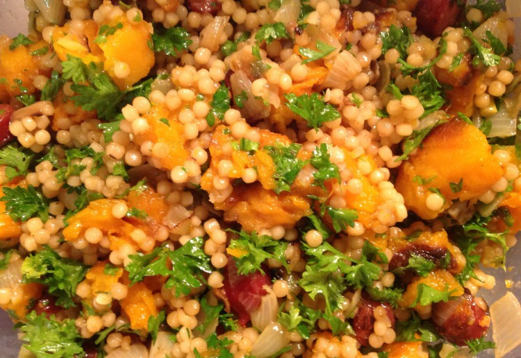 Cous Cous, Chorizo and Pumpkin