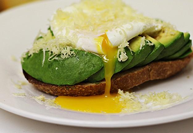 Poached Egg, Avocado and Jarlsberg