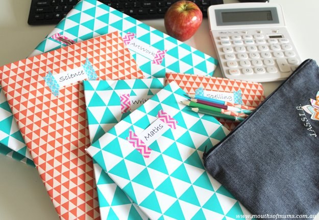 Back to School – Cover school books in style