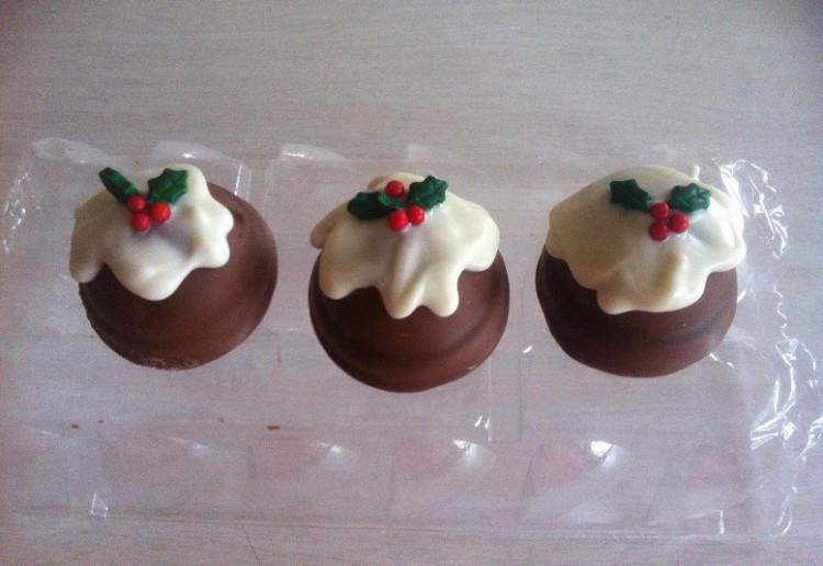Cheats Christmas puddings