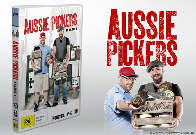 Win 1 Of 20 Aussie Pickers Season 1 Dvds Competition