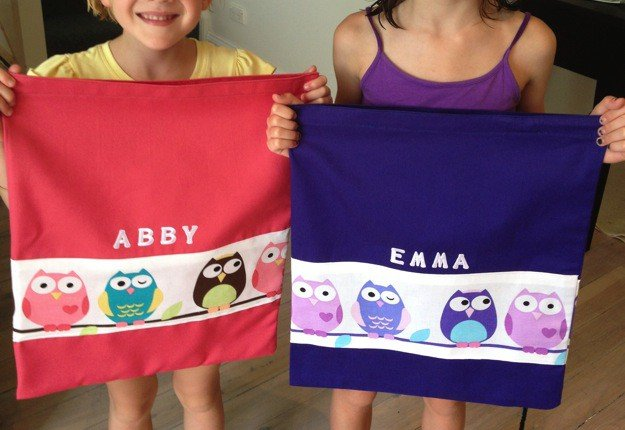 How to make personalised book bags