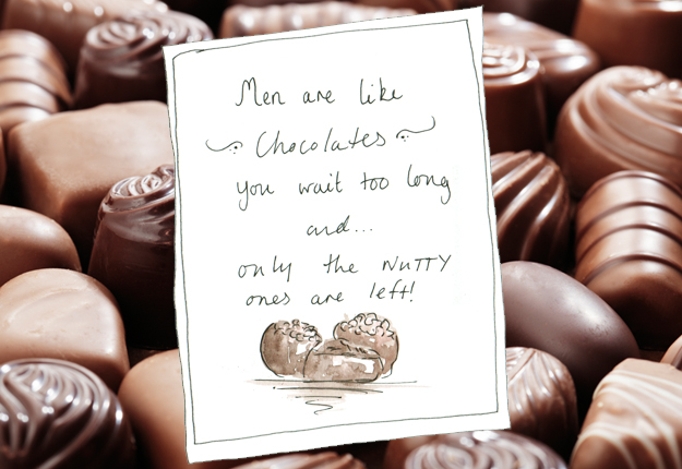The only real difference between me and chocolate pudding ... |Man And Chocolate Quotes