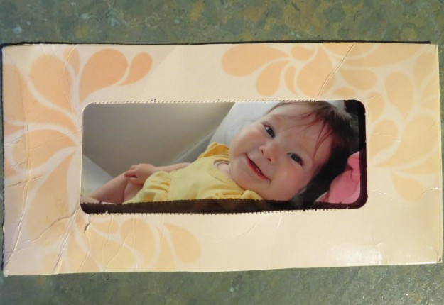Tissue Box Photo Frame Arts Crafts And Diy