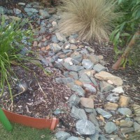 Make your own creek bed