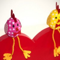 Chirpy Easter Chickens
