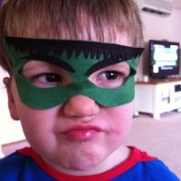 The Hulk Felt Mask