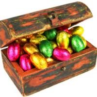 Easter treasure map