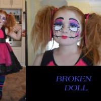Broken Doll for Halloween