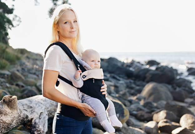 ATTENTION mums: What to look for in a baby carrier to save back strain