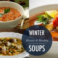 Hearty & Healthy WINTER SOUPS you can cook up right now.