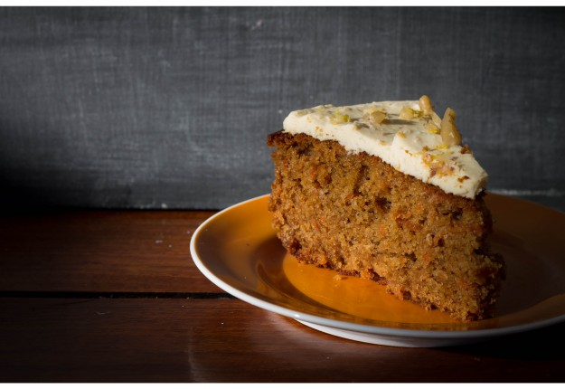Carrot & Walnut Cake (A Healthier alternative)