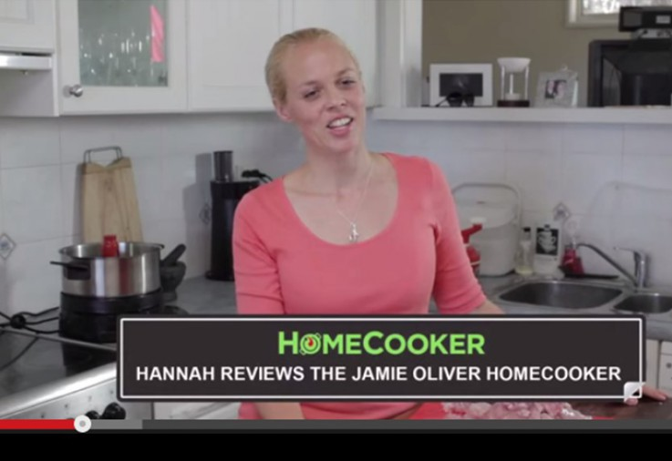 Hannah reviews the Jamie Oliver HomeCooker
