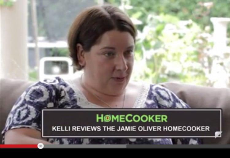 Kelli reviews the Jamie Oliver HomeCooker