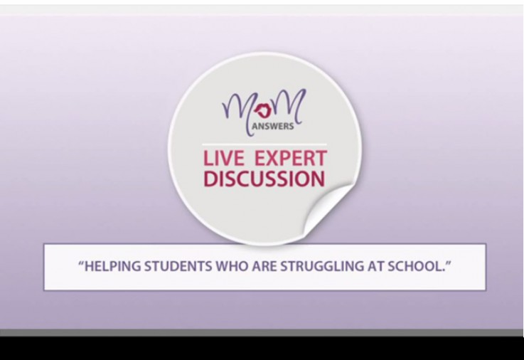 Sonja Walker responds to the issue of helping students who are struggling at school