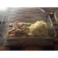 Slow cooker creamy chicken
